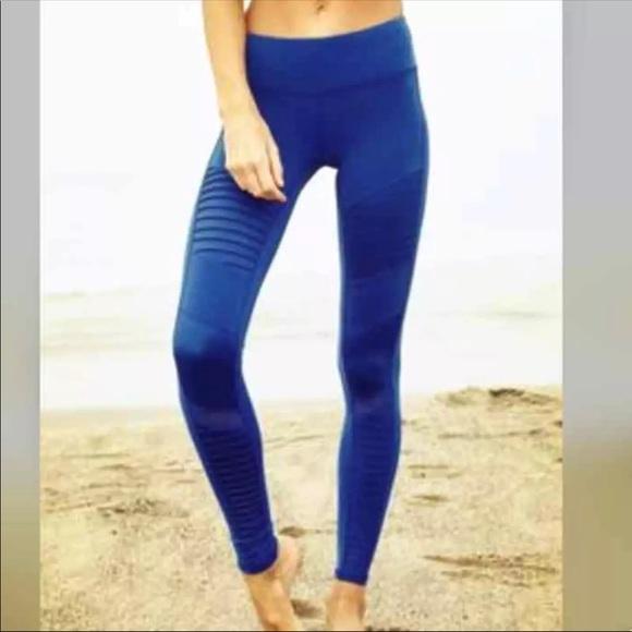e3b4701ed34a1 Victoria's Secret Pants | Victorias Secret Vsx Knockout Moto Tights ...